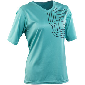 Race Face Charlie - Maillot manches courtes Femme - turquoise